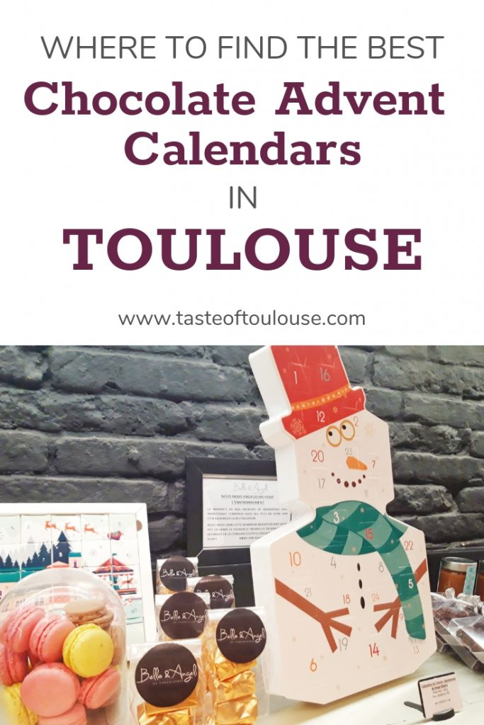Chocolate Advent Calendar Toulouse