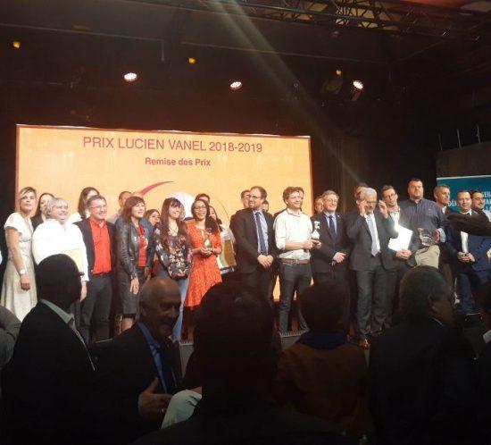 Prix Lucien Vanel award winners 2018-2019