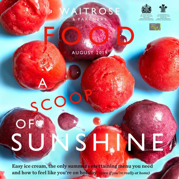 Waitrose & Partners Food magazine