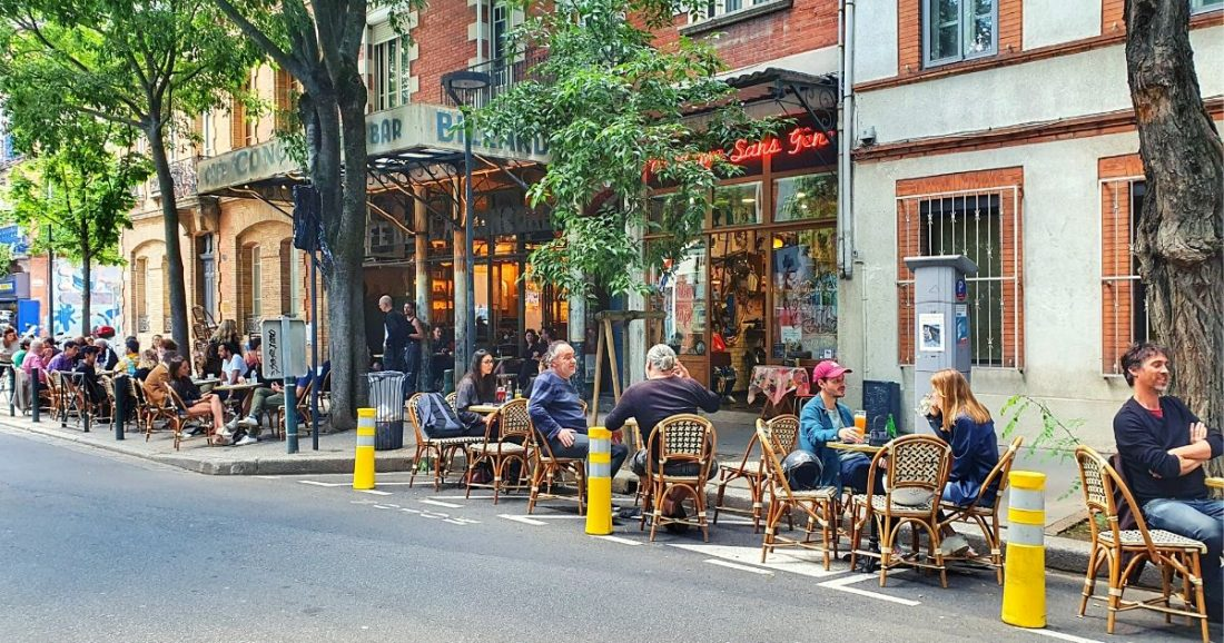 Dining outdoors and other things to do in Toulouse in July 2020