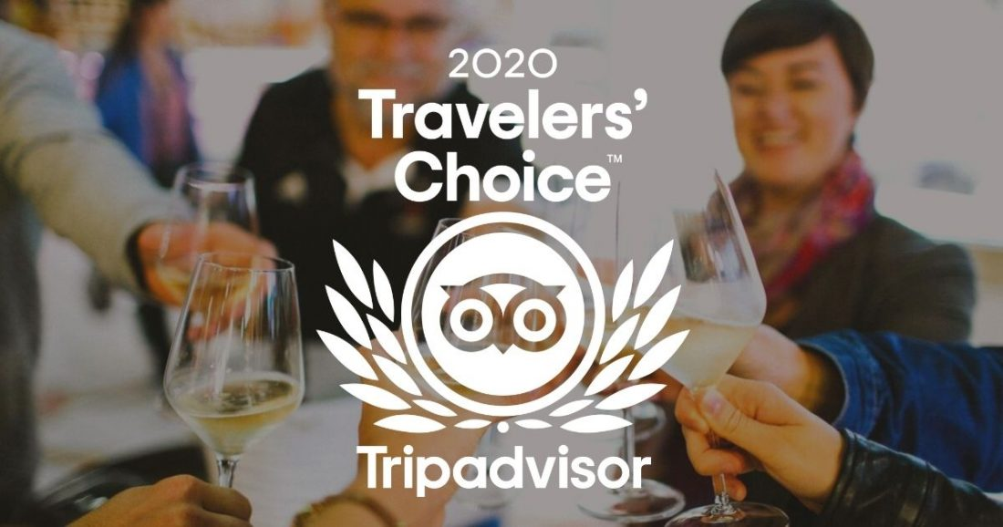 Taste of Toulouse awarded the TripAdvisor Travelers' Choice award!