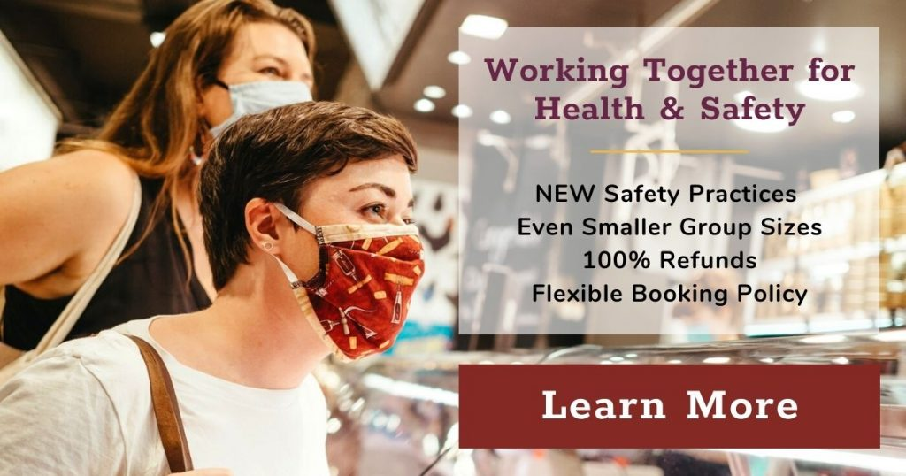 Working Together for Health and Safety. Click here to learn more about our health and safety practices.
