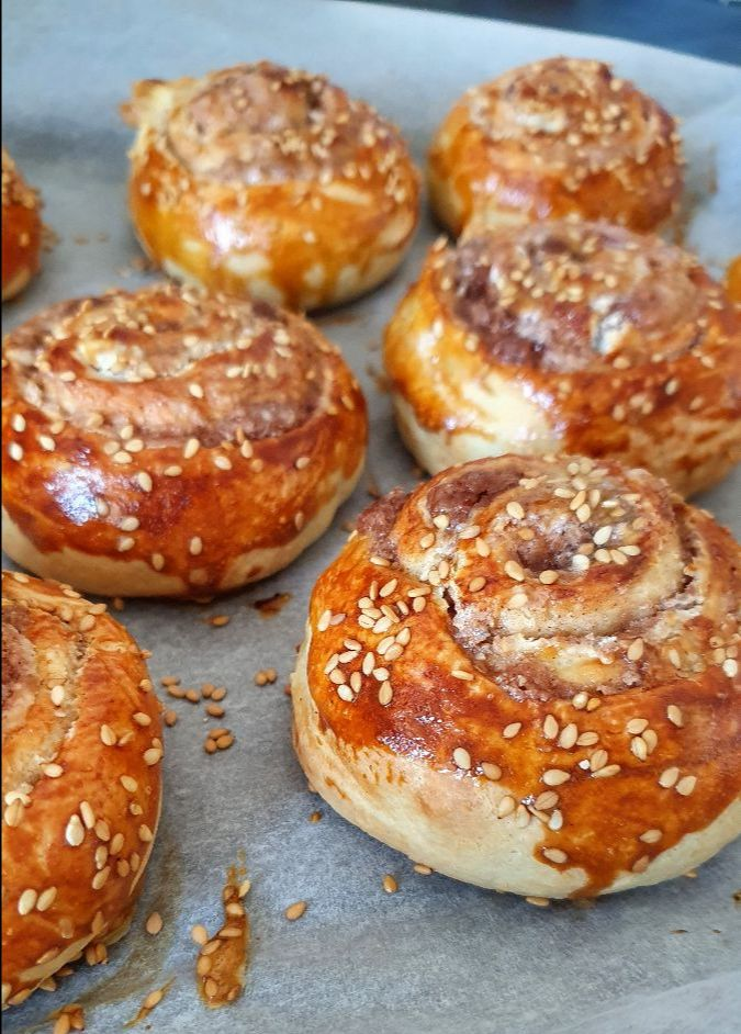 Sweet Tahini Rolls from Falastin cookbook